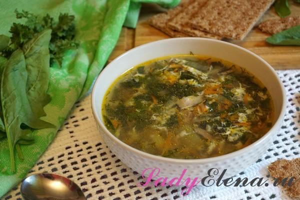 Фото рецепт супа из крапивы