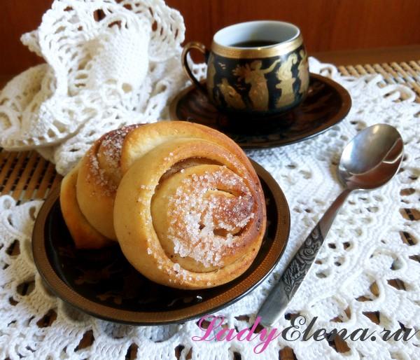 Фото рецепт булочек с корицей