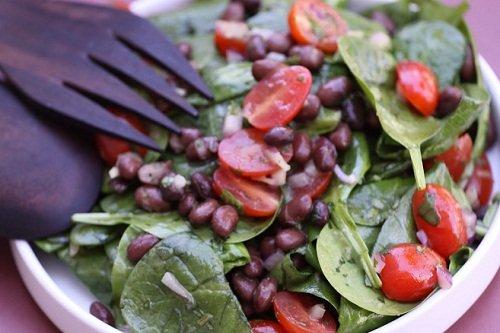 Как сделать из помидоров и фасоли салат