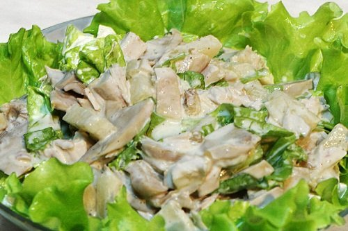 salat-s-kuricej-i-ogurcami 8