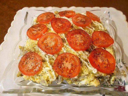 salat-s-zharenymi-gribami 11