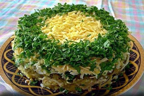 Какой салат можно сделать с грибами фото 218