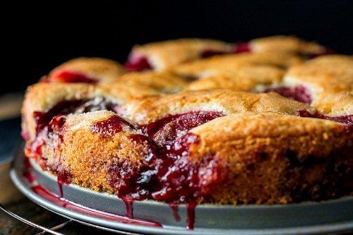 Американский пирог на сливах