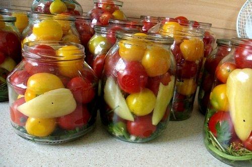 Как консервировать помидоры с уксусом в банках