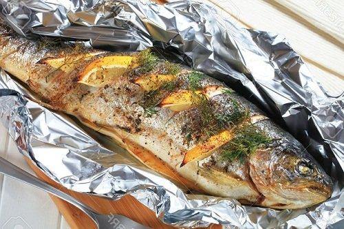 Как готовить рыбу в фольге в мультиварке