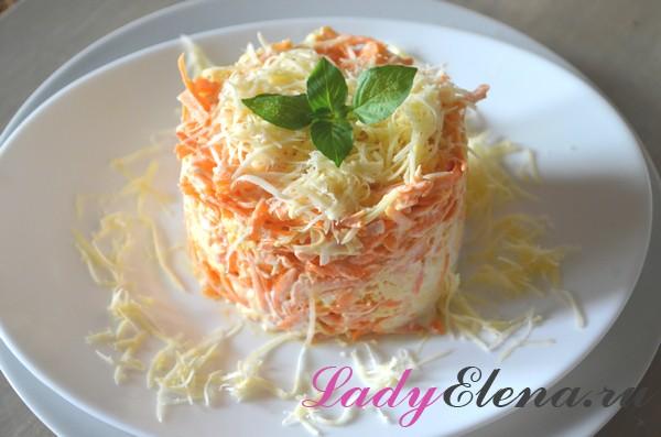 Салат из моркови - 10 лучших рецептов с фото морковного салата