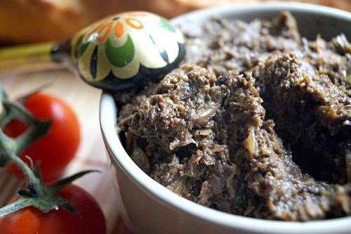 Вкусная грибная икра из маслят