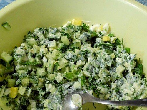 salat-iz-ogurcov-i-yaic 8