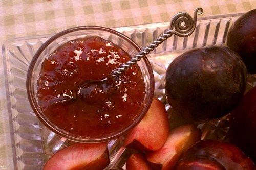 Как варить варенье из слив и яблок