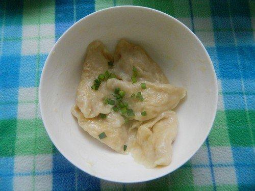 Приготовление вареников с капустой