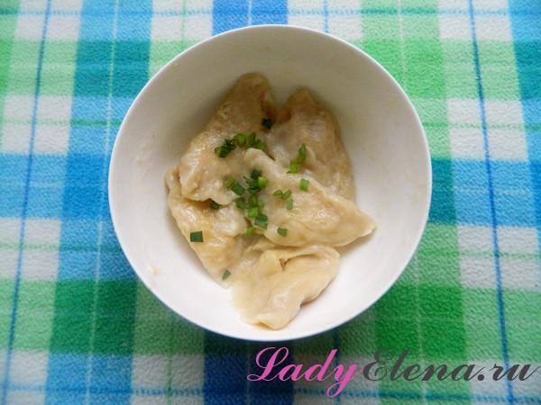 Фото рецепт вареников с капустой