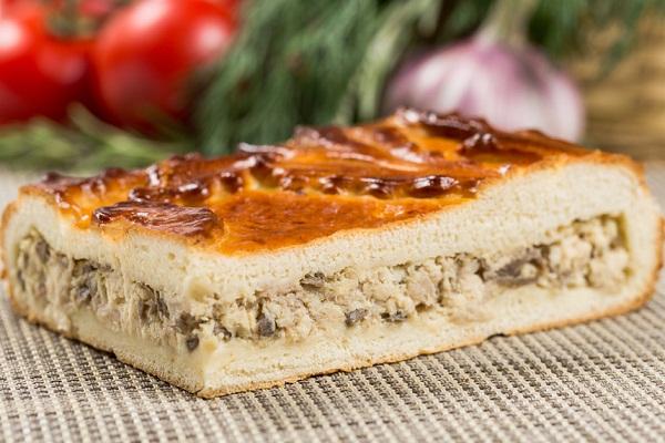 Пирог с курицей лучшие рецепты