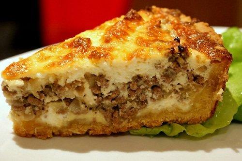 Пирос начинкой из капусты и рыбы