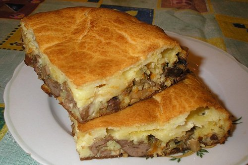 Рецепт капустного пирога с картошкой