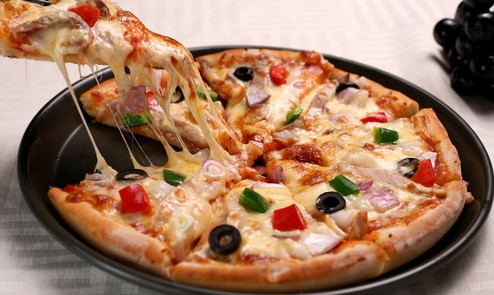 пицца без майонеза на сковороде за 10 минут пошаговый рецепт