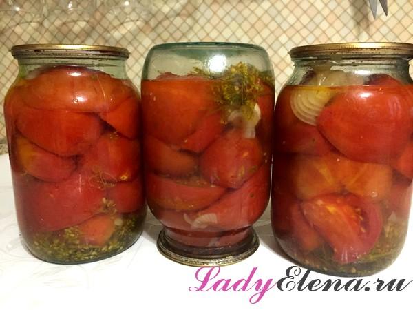 Фото рецепт салата из помидор на зиму