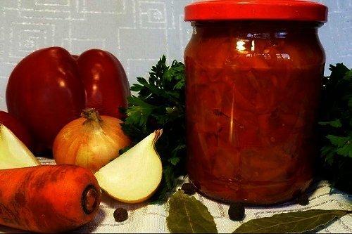 Рецепт салата с морковкой и помидорами