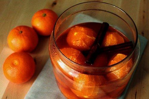 Варенье в виде целых мандарин