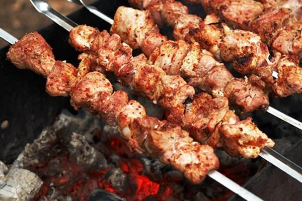 Шашлык из свинины маринад кавказский