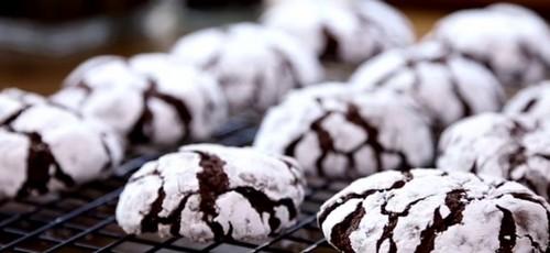 Как испечь печенье с трещинками