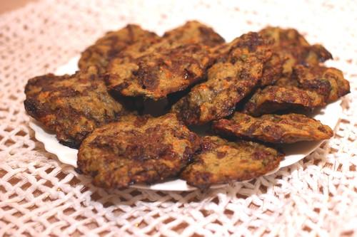 Как сделать оладьи из печенки в духовке