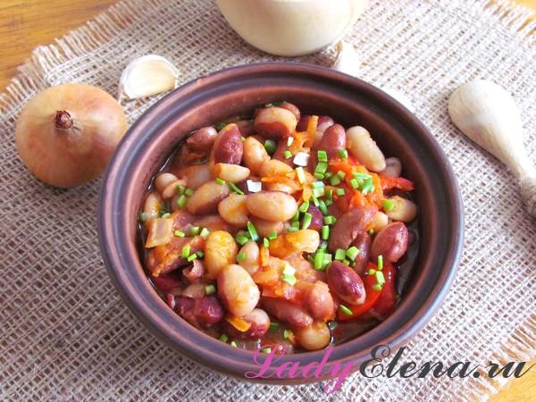 Как приготовить фасоль в томатном соке