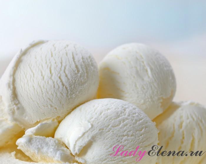 Мороженое на молоке и сликвах