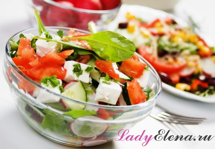 Как из яиц и редиски сделать салат
