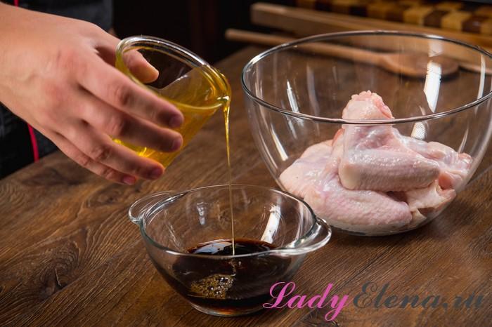 Как вкусно замариновать куриные крылышки