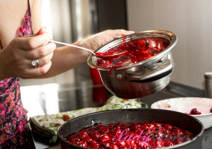Как варить пятиминутку из черешни