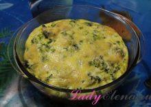Фото рецепт брокколи с сыром