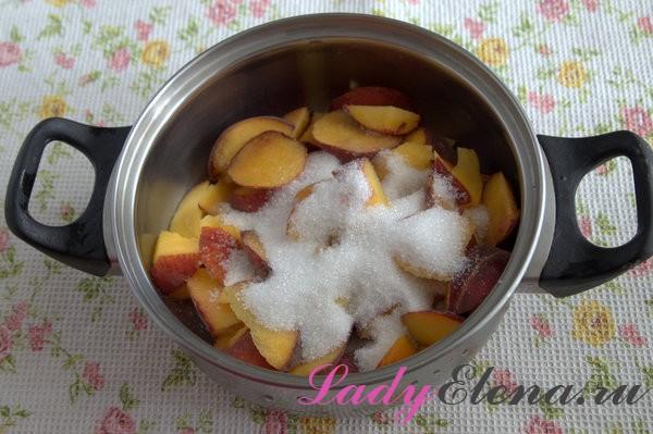 Варенье из персиков – фото рецепт 7 вариаций