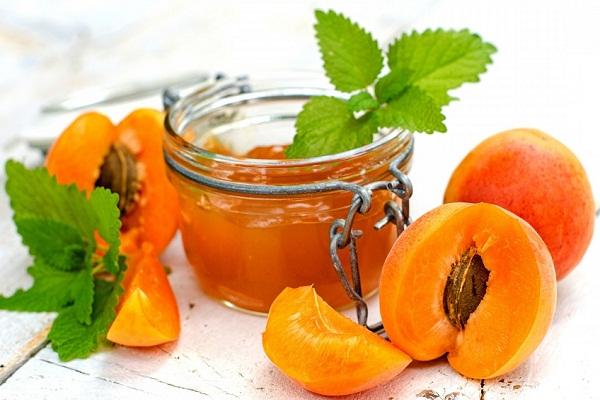Персиковое варенье с абрикосами