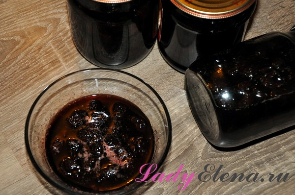 Фото рецепт варенья из вишни без косточек