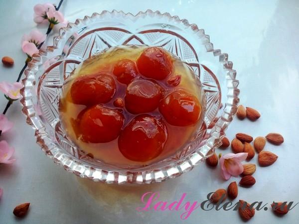 Фото рецепт абрикосового варенья с ядрышками