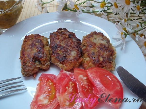 Постные котлеты из баклажанов и помидоров - рецепт пошаговый с фото