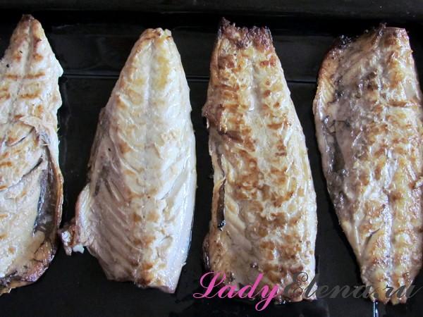 Скумбрия в духовке – 6 пошаговых рецептов   видео