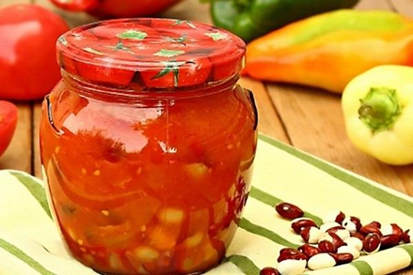 Как консервировать сладкий перец с помидорами