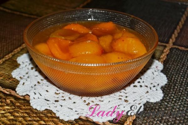 Фото рецепт варенья из абрикос дольками