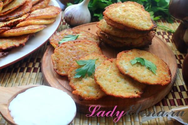 Фото рецепт: картофельные деруны