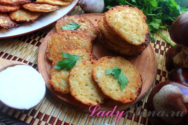Как готовить деруны из картошки