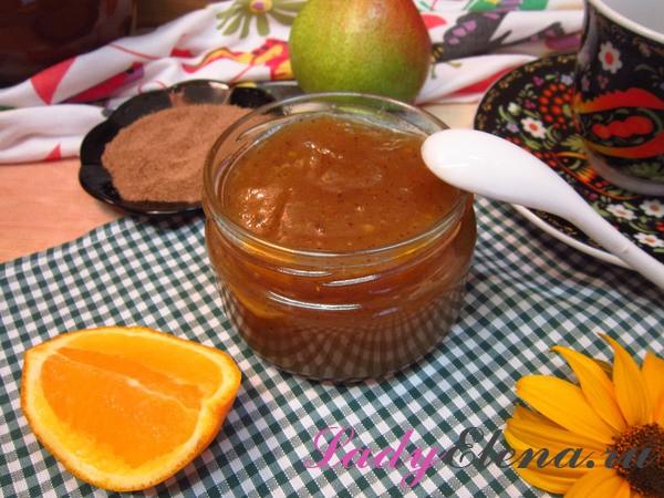 Как приготовить идеальный джем из груш