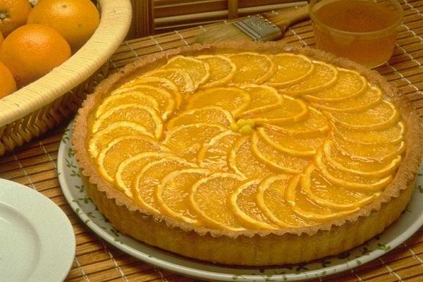Вкусный пирог с лимонами и апельсинами
