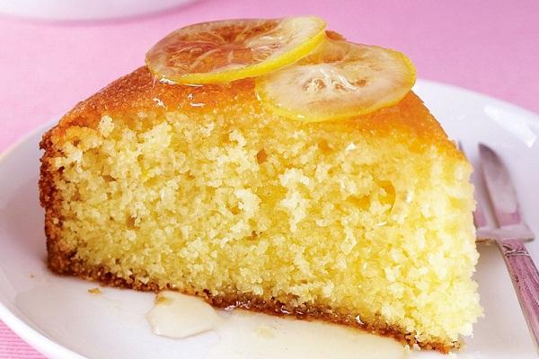 Как печь лимонный пирог в мультиварке