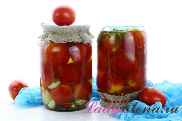 Как замариновать помидоры с медом на зиму