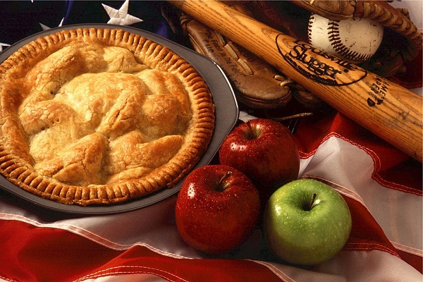 Пирог яблочный на дрожжах