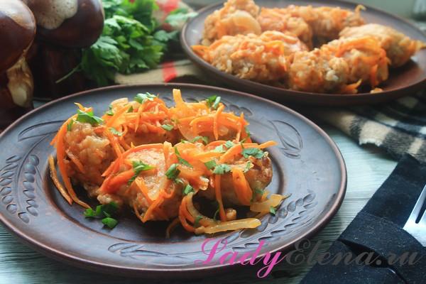 Фото рецепт тефтелей из индейки в томатном соусе