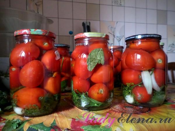 посол помидоров на зиму