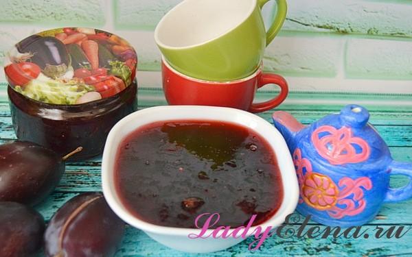 Фото рецепт: как готовить сливовый джем