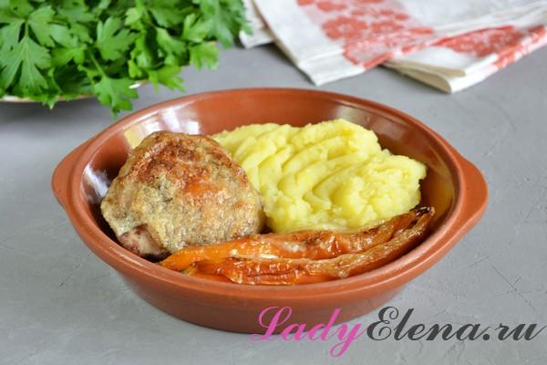 Фото рецепт куриные бедра в духовке